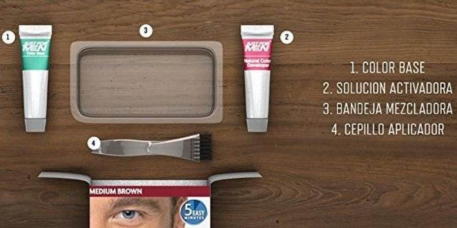 Just for men, tinte para barba precio