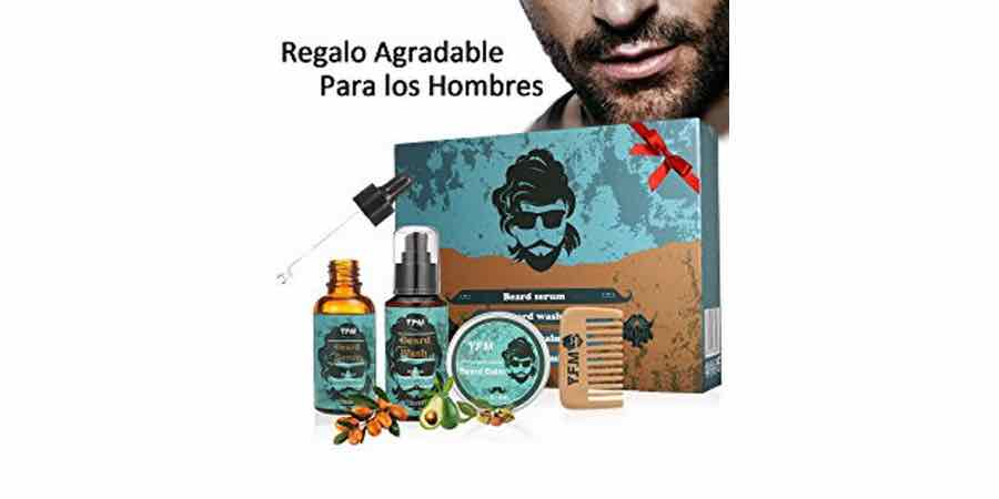 Kit de regalo para hombres con barba