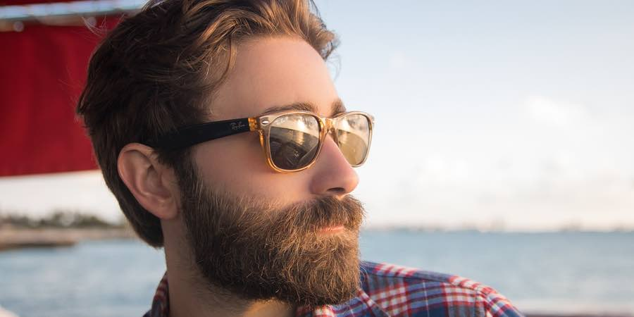 barbas largas y modernas